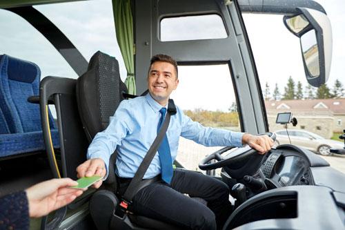 Kierowca autobusy sennik